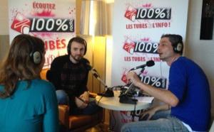 Christophe Willem interviewé par une auditrice de 100%