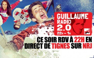 Guillaume Pley en direct de Tignes