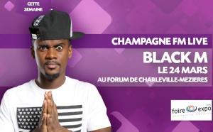 Champagne FM invite Black M