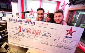 4 auditrices gagnent 1 an de loyer sur Virgin Radio