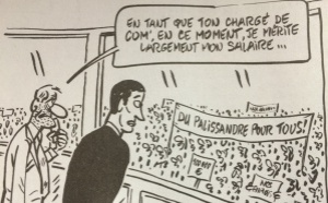 "Le Canard pointe ""les caprices"" de Mathieu Gallet"