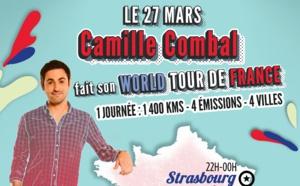 Camille Combal :  1 400 km dans la journée