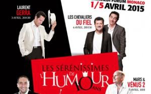 Rire & Chansons partenaire des Sérénissimes de l'Humour
