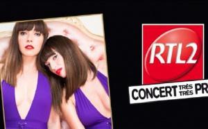 Brigitte sur RTL2 en Concert Très Très Privé