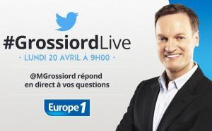 Michel Grossiord en direct sur Twitter