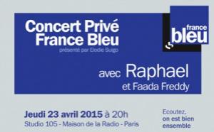 France Bleu en Concert Privé avec 250 auditeurs