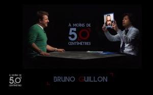 A moins de 50 centimètres de Bruno Guillon