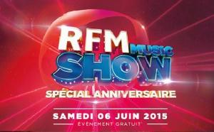 Un très beau plateau pour le RFM Music Show
