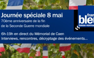 70e anniversaire du 8 mai 1945 avec France Bleu