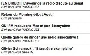 Réagissez à l'actualité de la radio