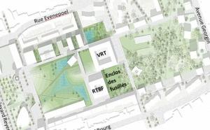 5 bureaux d'architecture pour le futur bâtiment de la RTBF