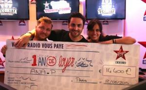 Virgin Radio a offert 45 000 euros de loyers
