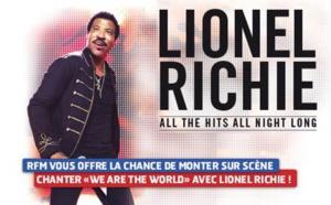 Les auditeurs de RFM sur scène avec Lionel Richie