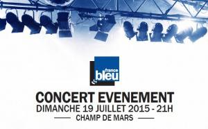 Concert événement de France Bleu à Valence