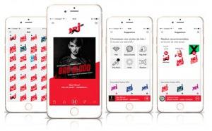 Nouveau design pour l'application de NRJ