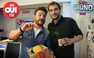 Oui FM paye son café à... Bruno Guillon