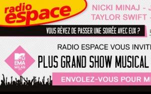Radio Espace invite ses auditeurs aux MTV EMA