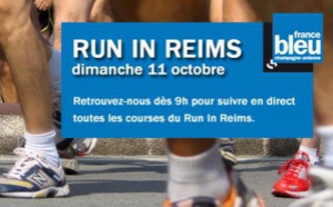 Le Run In Reims sur France Bleu Champagne-Ardenne