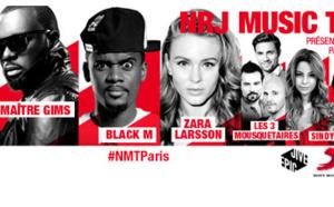 NRJ Music Tour à Paris ce 12 octobre