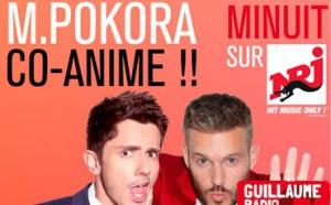 M Pokora co-anime l'émission Guillaume Radio 2.0