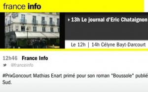 Goncourt : la journaliste jette l'éponge en direct