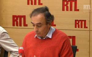 """Zemmour : """"aucun motif à polémique"""" selon RTL"""