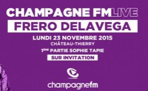 Ce soir, Champagne FM en concert