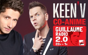 Keen'V co-anime l'émission Guillaume Radio 2.0