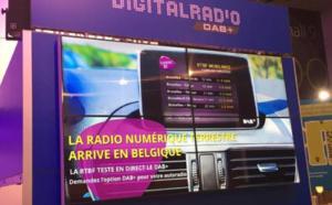 La radio numérique DAB+ de la RTBF en démonstration