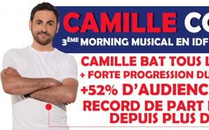 Camille Combal : dans le Top 3 des Mornings à Paris