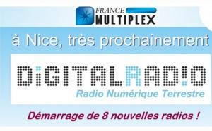 Démarrage prochain du multiplex RNT 5 à Nice