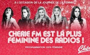 Chérie FM très féminine ce 8 mars