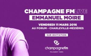 Emmanuel Moire au Champagne FM Live