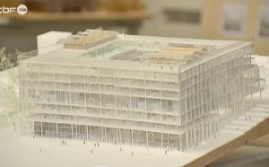 Le futur siège de la RTBF à Bruxelles en images