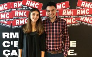 Deux jeunes journalistes intègrent RMC Sport