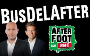 L'After Foot sur RMC en direct d'un bus