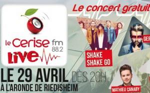 """Cerise FM prépare le """"Cerise FM Live 4"""""""