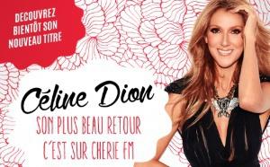 Céline Dion fait son retour sur Chérie FM
