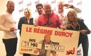 Combien pèsera Olivier Duroy le 24 juin ?