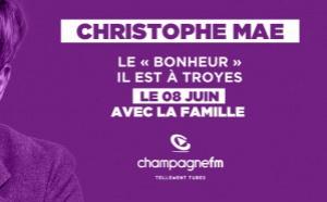 Christophe Mae fait étape à Champagne FM