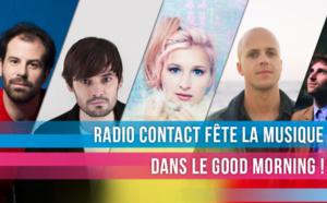 En juin, la musique de Radio Contact sera noire, jaune, rouge
