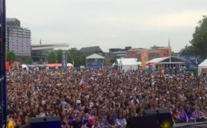 Contact FM partenaire de la Fan Zone de Lille