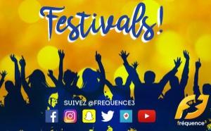 Fréquence 3 en direct des grands festivals de l'été