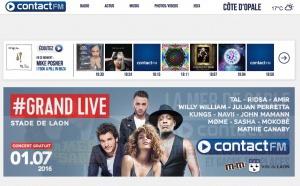 Contact FM lance une nouvelle version de son site