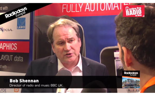 Entretien exclusif avec Bob Shennan, nouveau directeur de la BBC Radio