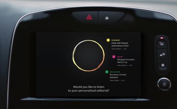 AEX, la future voiture-média de Renault