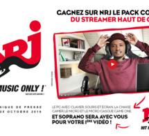 NRJ offre le pack complet du streamer