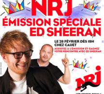 Ed Sheeran chez Cauet sur NRJ ce 28 février