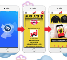NRJ et Because Music s'associent sur Shazam