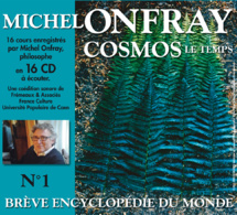 Michel Onfray dans un coffret France Culture